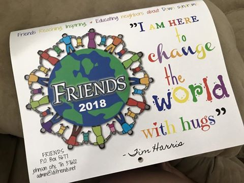Image of 2018 Friends calendar