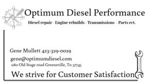 Optimum Diesel Performance
